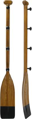 Boat Oar Coat Rack Black Oar Coat Hanger Authentic Models FE100 64