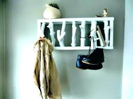 Wall Mounted Hat Rack Coat Hooks Beauteous Wall Hat Rack Wall Hat Rack Wall Mounted Hat Rack Hat Rack Wall