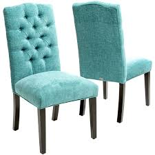 turquoise macie set of 2 tufted parsons dining chairs everything turquoise dining chairs