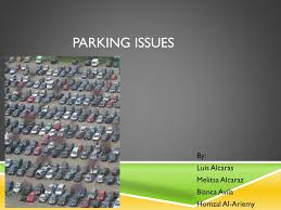 PPT - Parking Issues PowerPoint Presentation, free download - ID:2678440