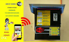 Piso Wifi Vending Machine Custom Piso Wifi Vending Paperless 48users Coin Operated NEW For Sale