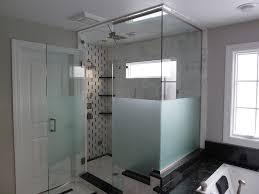 etched steam shower