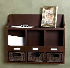 mail organizer box wall mount with nuts