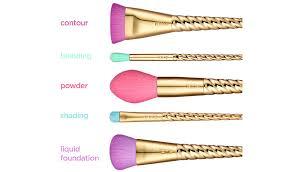 unicorn brush sets. tarte magic wands unicorn makeup brushes set brush sets .