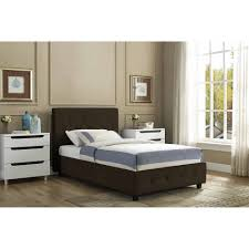 dhp astoria metal and upholstered daybed and trundle black