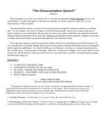Campaign Speech Example Template Adorable Class President Campaign Speech Sample Example Of A Demonstration Le