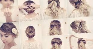 Coiffure Simple Mariage Cheveux Mi Long Tendances Et
