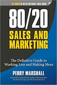 Amazon Book Charts Sales Uk 80 20 Sales And Marketing Amazon Co Uk Perry Marshall