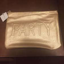 macy s party clutch makeup bag