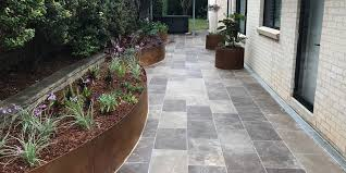cleaning natural stone pavers