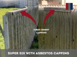 Asbestos, Super Six Non Asbestos or Hardifence - How to tell the Difference