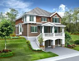 lake house designs with views plans walkout basement in front small screened porch island on pilings