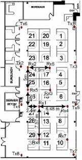 Office Cube Design Adorable Floor Plan Of The Cubiclestyle Office Environment Used For The