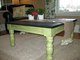 refinishing coffee table ideas coffee table renovated into chalkboard kids play table diy chalk paint coffee