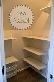 How To Organize A Small Closet For Maximum Storage SpaceIkea Closet Organizer Algot