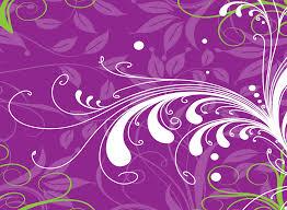 Purple Flowers Backgrounds Purple Floral Vector Backdrop