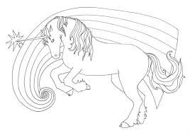 Coloring Pages Unicorns Printable Disney Princesses Flowers For