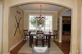 surprising chandelier size foring room images design home small with wooden table and
