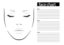 Makeup Charts Free Makeup Face Charts Photos Royalty Free Images Graphics