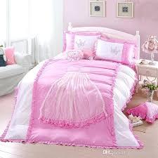 duvet covers for teens modern princess pink flower bedding set king single double home textile pillowcase