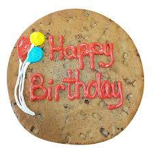 Customized Giant Birthday Cookie And Birthday Cookie Cake Gift Ideas