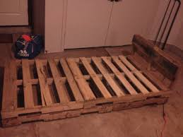 simple pallet twin bed frame i built with regard to architecture 13