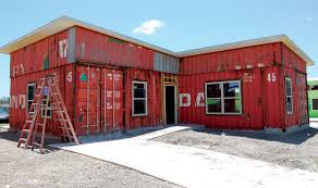 best students put theories into practice to benefit community with container  homes texas