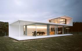 Modern minimalist design houses