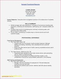 Resume Objective Sample For Hotel And Restaurant Management
