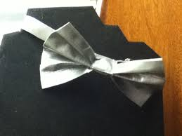 picture of duct tape bow tie