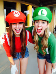 super mario costume and luigi girl costumes friends