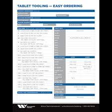 Innovative Standard Custom Tablet Compression Tooling