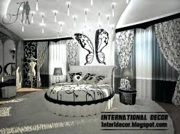 black n white furniture. Bedroom Decor With Black Furniture Modern Style Paint Ideas And White N