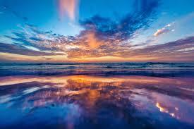 sky reflection background