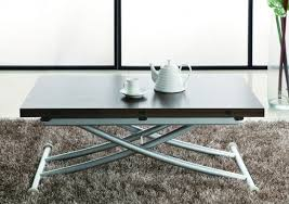 Furniture. Unique Coffee Table That Converts To Dining Table Just Perfect  For Space Saving.