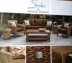 Studio by Brown Jordan 6 Piece Seating Set Costco FrugalHotspot