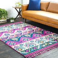 bohemian area rug outstanding bright fl rug awesome bungalow rose modern bohemian fl bright pink area