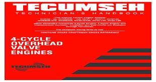 Maintain Tecumseh 4 Cycle Engine Pdf Document