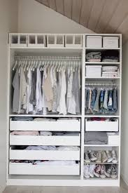 Traditional Bedroom With White Ikea Closet Organizer Light Grey Ikea Closet Organizer With Drawers