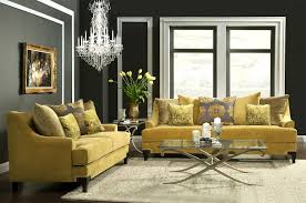 Gold Yellow Sofa FA22 Collection