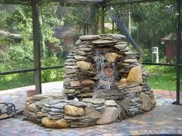 Small Picture Chic Backyard Fountain Ideas Backyard Fountain Designs Pool Design