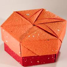 Decorative Gift Boxes With Lids Decorative Hexagonal Origami Gift Box with Lid 100 Flickr 52