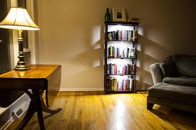 book shelf lighting. led bookcase lighting traditionallivingroom book shelf w