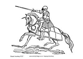 Small Picture Easy to Make knight coloring sheet knight coloring pages to