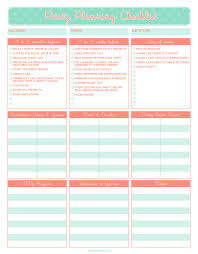Party Planner Checklist Template Pin By Justified Maui On Events Pinterest Party Planning Party