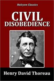 give a critique of civil disobedience by henry david thoreau answer thoreau