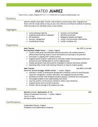 Resume Samples For Teachers X Website Photo Gallery Examples Teacher