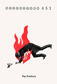 book cover designs to designing the posters for the fahrenheit 451 cover redesign the fox is black