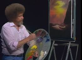 in fact he did the shows for pbs for free making his money through creating a multi million dollar business ing his own line in art supplies