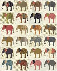 Elephants applique quilt pattern by Edyta Sitar   Laundry Basket ... & Elephants applique quilt pattern by Edyta Sitar   Laundry Basket Quilts Adamdwight.com